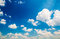 Stock Image : Clouds in Blue sky