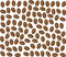 Stock Image : Coffee beans background