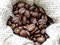 Coffee beans in canvas