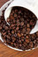 Stock Image : Coffee beans and cup