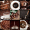 Stock Image : Coffee concept collage