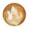 Stock Image : Coffee Foam Art