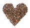 Stock Image : Coffee heart