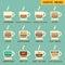 Stock Image : Coffee menu