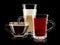 Stock Image : Coffee and tea