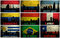 Stock Image : Collage of famous South America cities