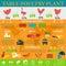 Stock Image :  Collectief ontwerp gevogeltelandbouwbedrijf, productie van kippenvlees