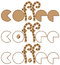 Stock Image : Collection of coffee logos