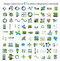 Stock Image : Collection of Infographic Templates for Business
