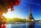 Stock Image : Color of  autumn in Paris