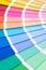 Stock Image : Color palette guide
