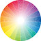 Stock Image : Colored circle
