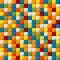 Stock Image : Colored mosaic seamless pattern
