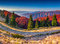 Stock Image : Colorful autumn panorama of the mountains.