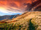 Stock Image : Colorful autumn sunrise in mountains