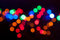 Stock Image : Colorful bokeh background