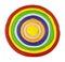 Stock Image : Colorful circle
