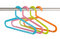 Stock Image : Colorful clothes hangers