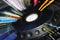 Stock Image : Colorful DJ player station
