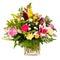 Stock Image : Colorful flower bouquet arrangement centerpiece