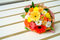Stock Image : Colorful gerbera flower bouquet