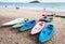 Stock Image : Colorful kayak