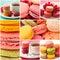 Stock Image : Colorful macarons