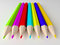 Stock Image : Colorful pencils.