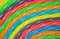 Stock Image : Colorful rainbow licorice