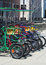 Stock Image : Colorful Rental Quad Cycles