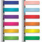 Stock Image : Colorful ribbons  with shadow 2