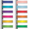 Stock Image : Colorful ribbons  with shadow