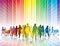 Stock Image : Colorful shopping