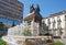 Stock Image : Columbus and Queen Isabella, monument in Granada