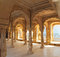 Stock Image : Columns in palace - Jaipur India