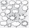 Stock Image : Comic speech bubbles