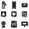 Stock Image : Communication Icons