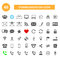 Stock Image : Communication icons for web