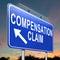 Stock Image : Compensation claim.