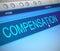 Stock Image : Compensation concept.