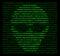 Stock Image : Computer Cyber Crime Hacker