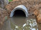 Stock Image : Concrete sewage pipes