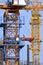 Stock Image : Construction tower crane