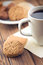 Stock Image : Cookies and coffee
