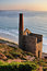 Stock Image : Cornish Tin Mine, St Agnes Head, Cornwall