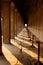 Stock Image : Corridor in dusk