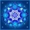 Stock Image : Cosmic Mandala