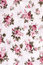 Stock Image : Cotton fabric with floral pattern
