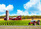 Stock Image : Country Farm Landscape