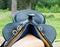 Stock Image : Cowboy horse saddle